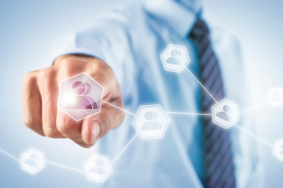 Kontakte in virtuellem Netzwerk (Kontaktverwaltung)