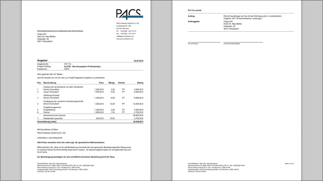 Projektakquise Crm Customer Relationship Management Pacs Software