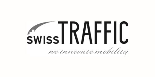 Swisstraffic (Logo) we innovate mobility