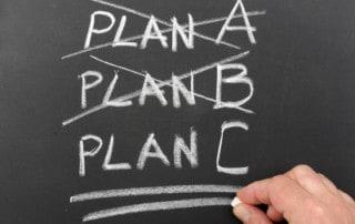 Projektplan: Plan A => Plan B => Plan C