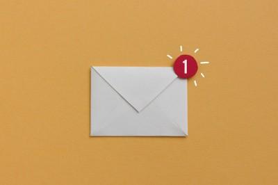 Briefumschlag (1 neue Nachricht)