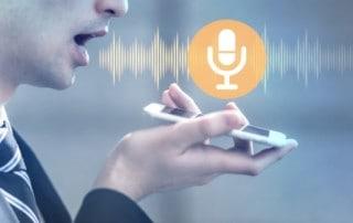 Spracherkennung Smartphone